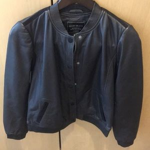 🆕 Lucky Brand Lambs Skin Leather Jacket